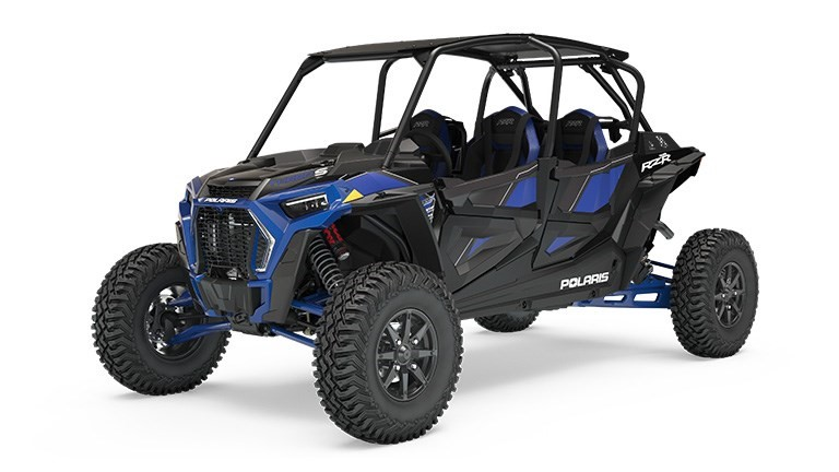 Recalled 2019 Polaris RZR XP 4 Turbo S – blue