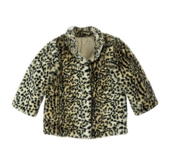 Recalled Cheetah Fur Jacket for infants