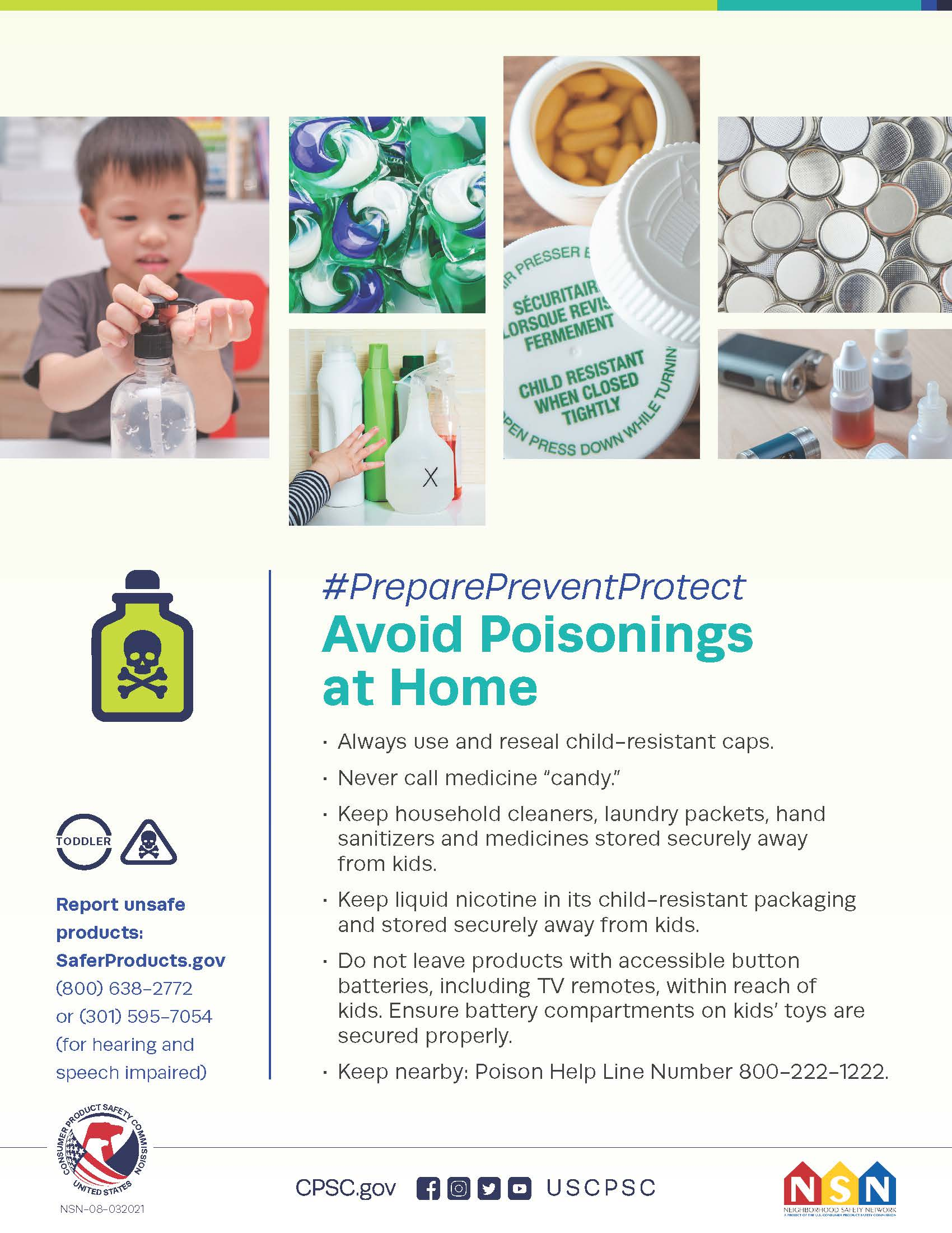 Prevent a Poisoning: Think Outside the Box