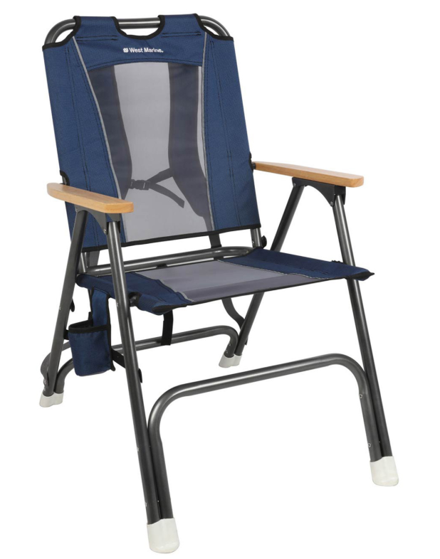 West Marine Deck and Comfort Plus Deck Crew folding chair