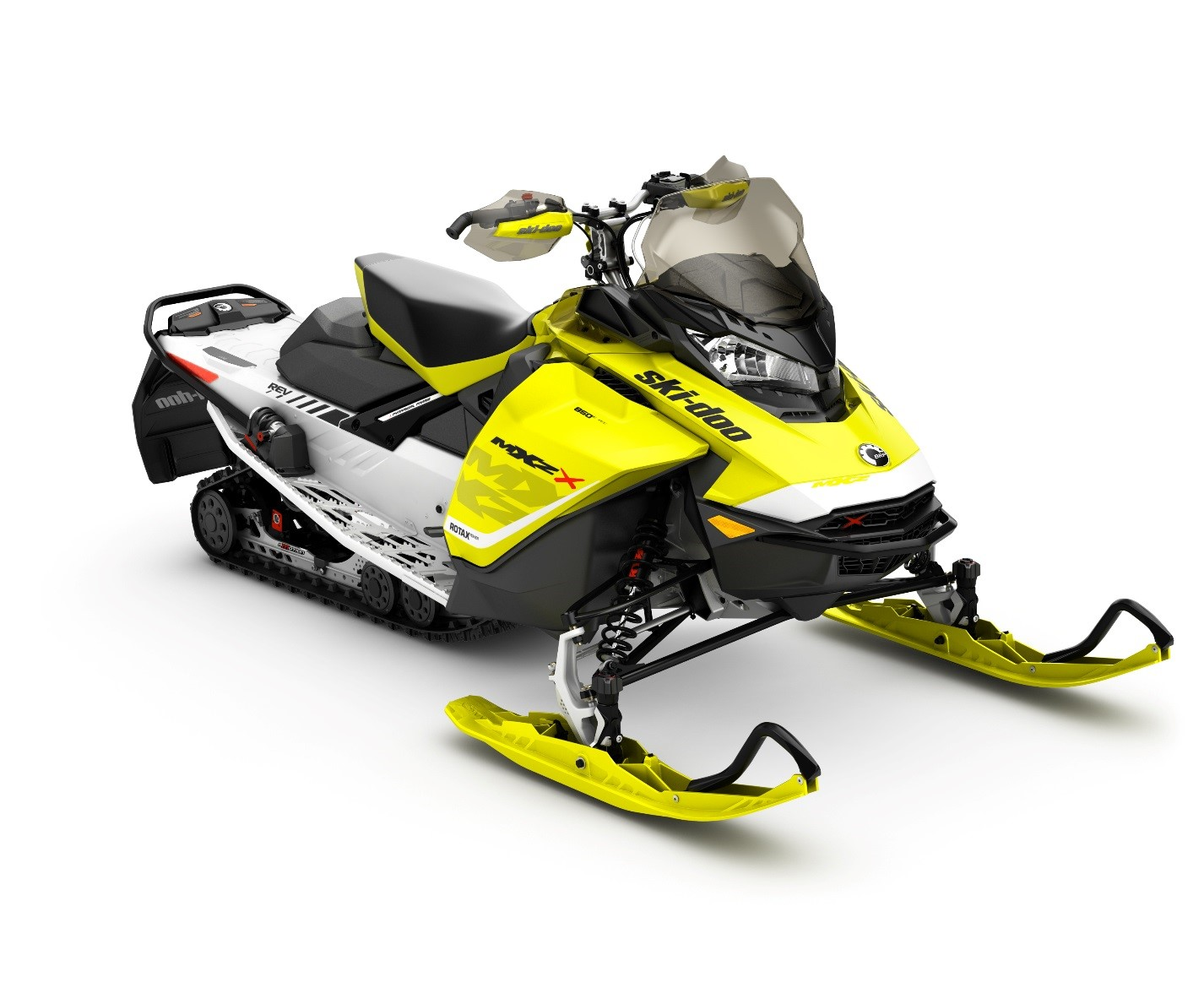 Recalled MXZ X 850 E-TEC Yellow