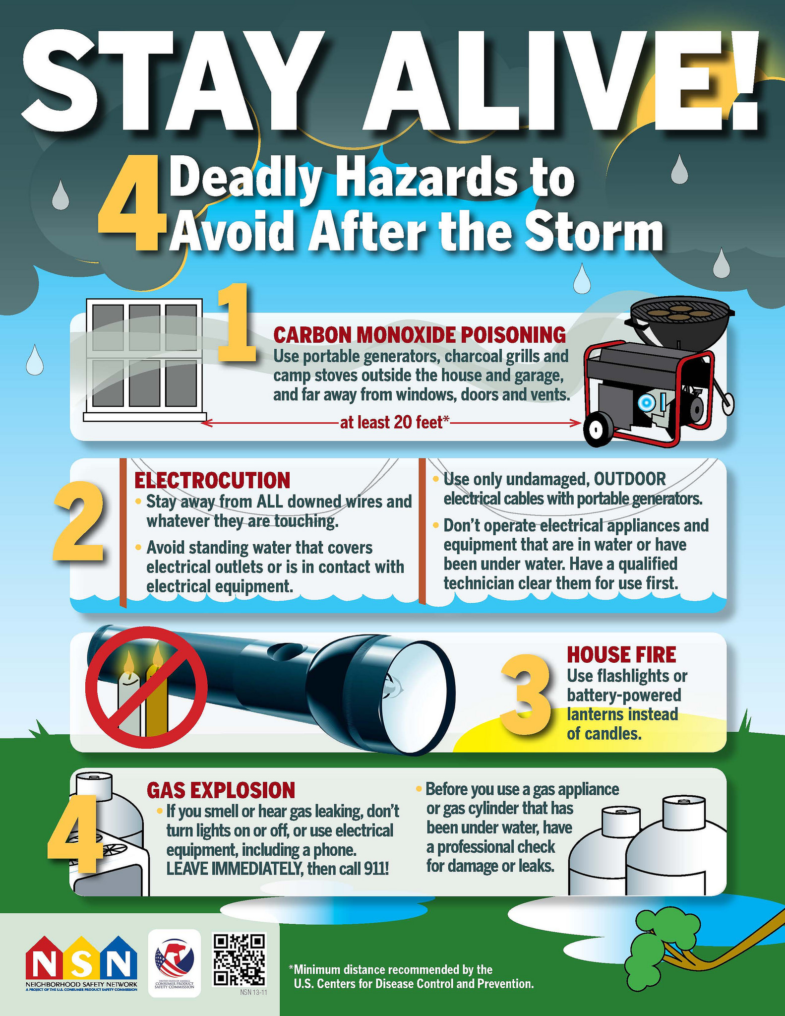 CPSC Survival Tips for AFTER the Storm: Keep Your Family Safe and Avoid Deadly Dangers