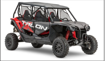 2019-2020 Model Year Talon 1000 4 Passenger
