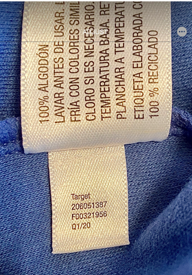 Cloud Island Infant Rompers Item Number Located on the White Tag Inside the Garment.