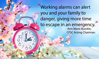Spring Forward and Change Your Smoke and Carbon Monoxide Alarm Batteries