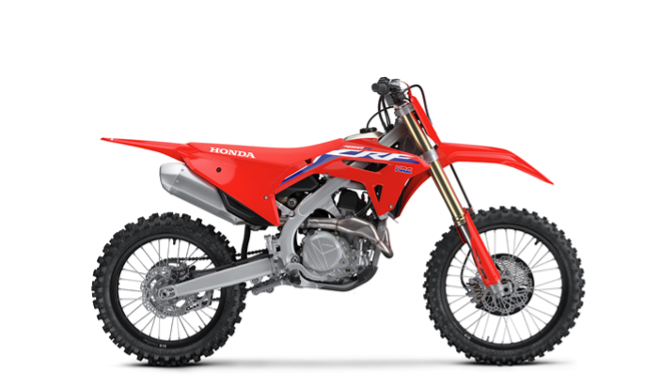 Recalled 2021 CRF450R Off-Road Motorcycle