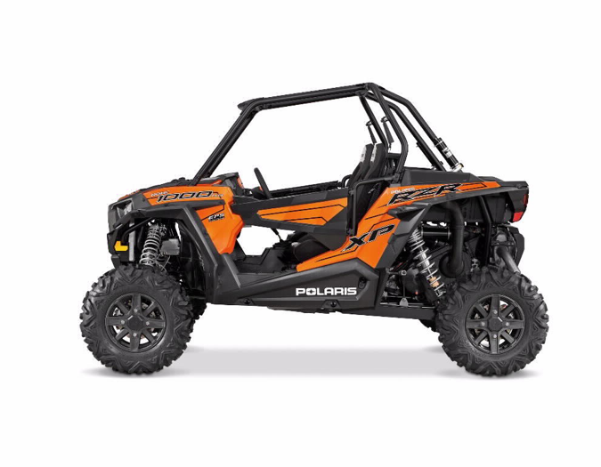 2015 RZR XP 1000 – Naranja intenso (Orange Madness)