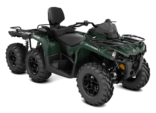 Recalled 2021 Can-Am Outlander MAX 6x6 DPS 650