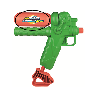 Recalled Super Soaker XP20