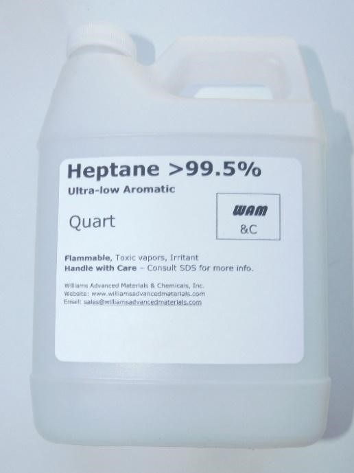 Recalled Williams Advanced Materials & Chemicals - Heptane