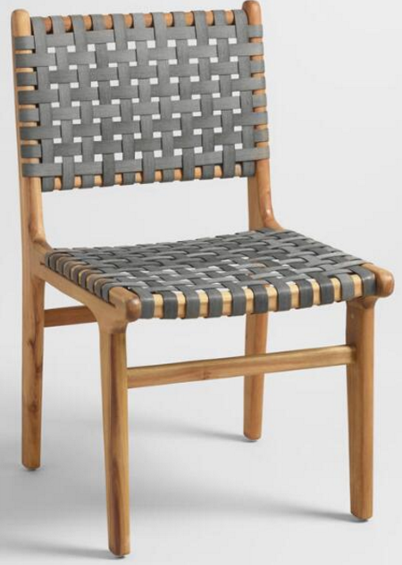 SKU Number: 536033 Girona grey strap dining chair