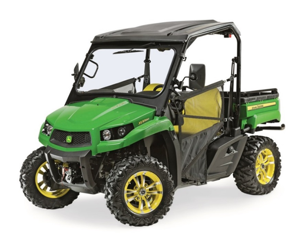Recalled John Deere XUV590 Gator utility vehicles