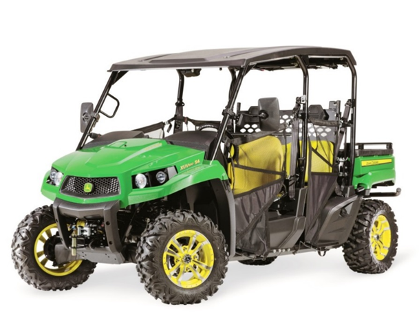 Recalled John Deere XUV590 S4 Gator utility vehicles