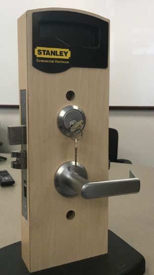 Stanley Commercial door locksets (front view)