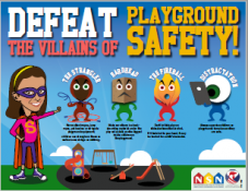 Defeat the Villains of Playground Safety