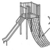 Strangulation Hazard with Playground Cargo Nets