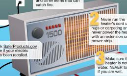 Seven Highly Effective Portable Heater Safety Habits