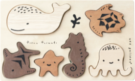 Wee Gallery Recalls Wooden Tray Puzzles Due to Choking Hazard