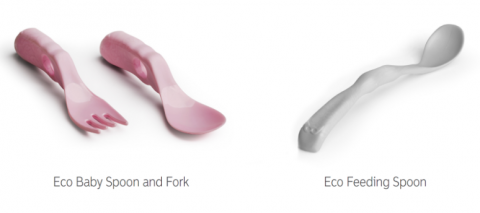 Recalled Eco Baby Spoon and Fork and Eco Feeding Spoon