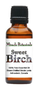 Recalled Miracle Botanicals Birch Essential Oil