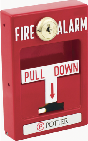 Recalled Single Action Pull Station – Front