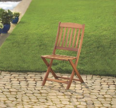 Recalled Linon Home foldable wood patio chair