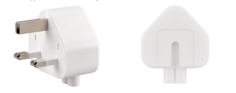 Recalled Three-Prong AC Wall Plug Adapter