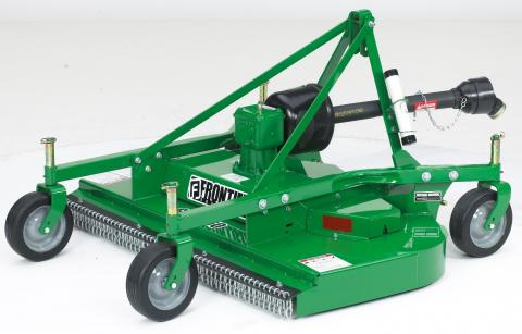 Recalled John Deere's Frontier Grooming mower