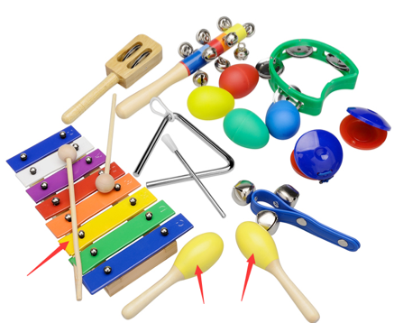 Recalled INNOCHEER musical instruments xylophone set