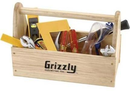 Recalled Grizzly Children's Tool Kit in Wooden Caddy (Model# H5855)