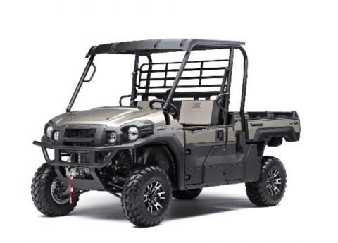 Recalled 2017 Kawasaki MULE PRO-FX Ranch edition