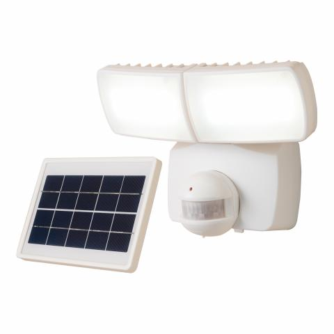 The recalled Defiant MST1000LWDF solar-powered motion-activated outdoor LDC light.