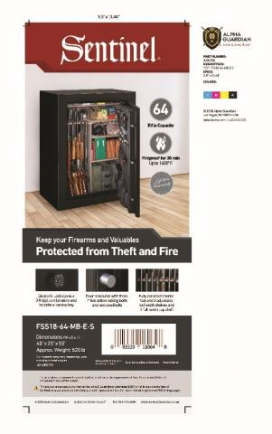 Recalled Sentinel Safe