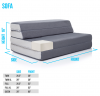 CVB Recalls LUCID Folding Mattress-Sofas Due to Violation of Federal Mattress Flammability Standard